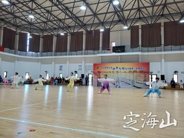 2020年浙江省健身气功站点联赛(东部赛区)举行